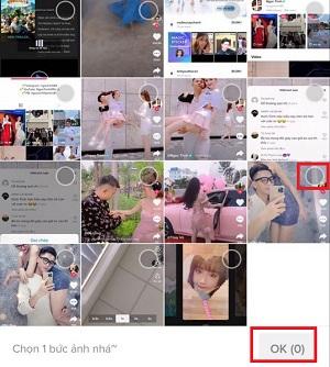 Cách làm video 1 ảnh trên Tik tok